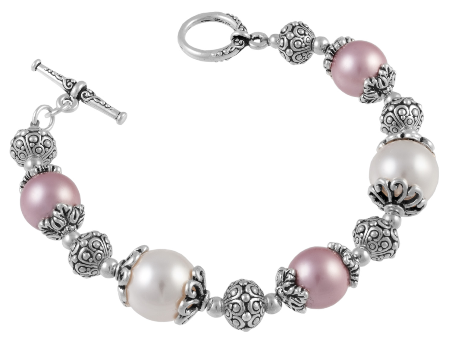 Enchanted Pearls Bracelet