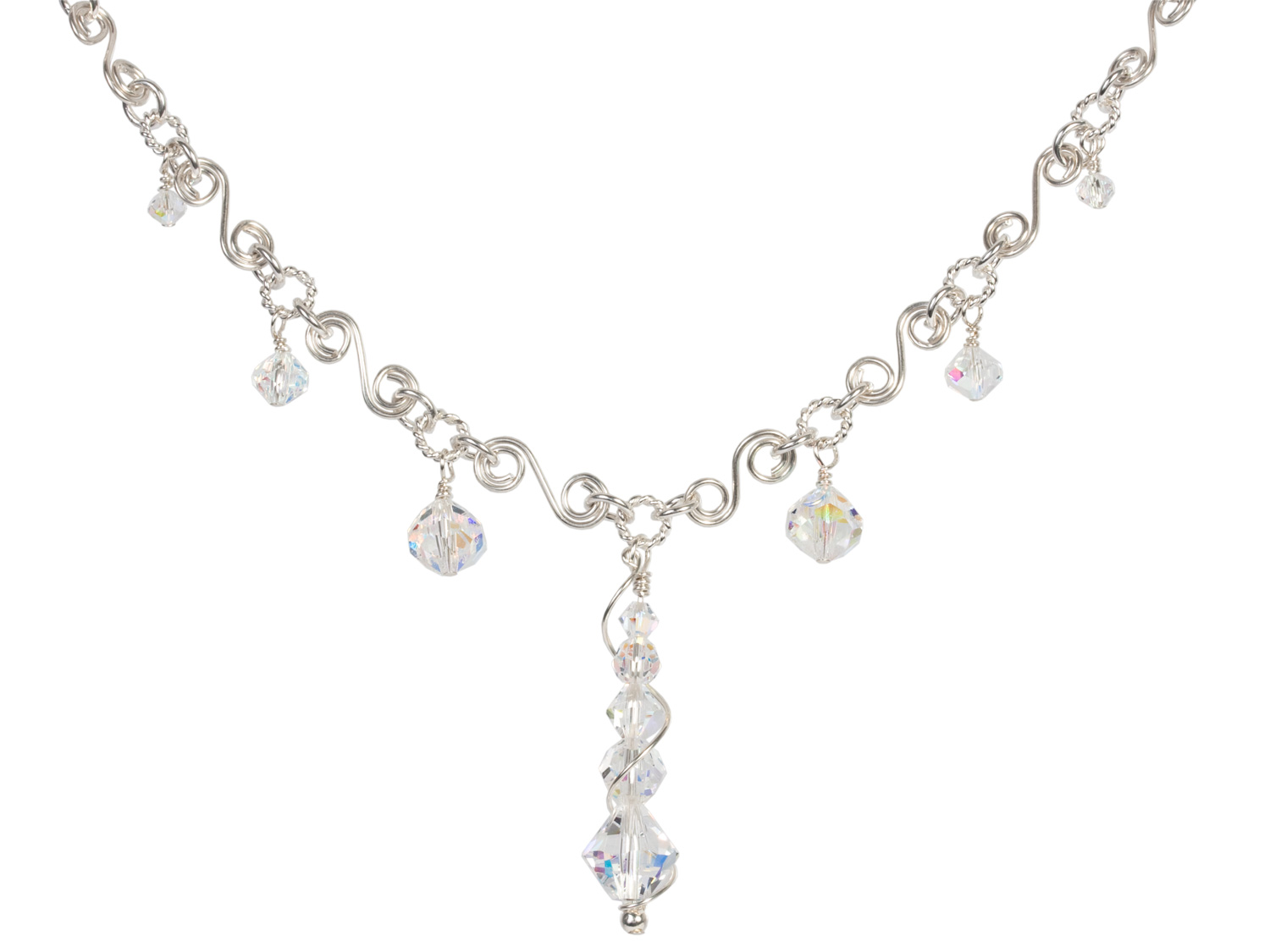 Ice Crystal Necklace