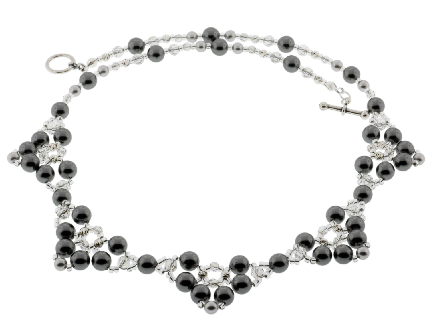 Pearl Princess Necklace Weave