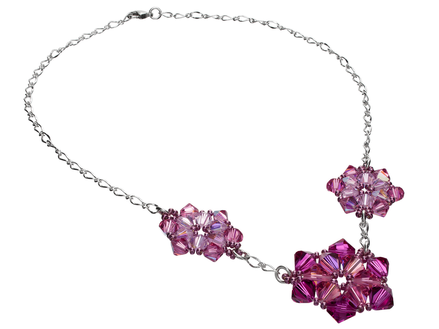 Flowering Pinks Necklace