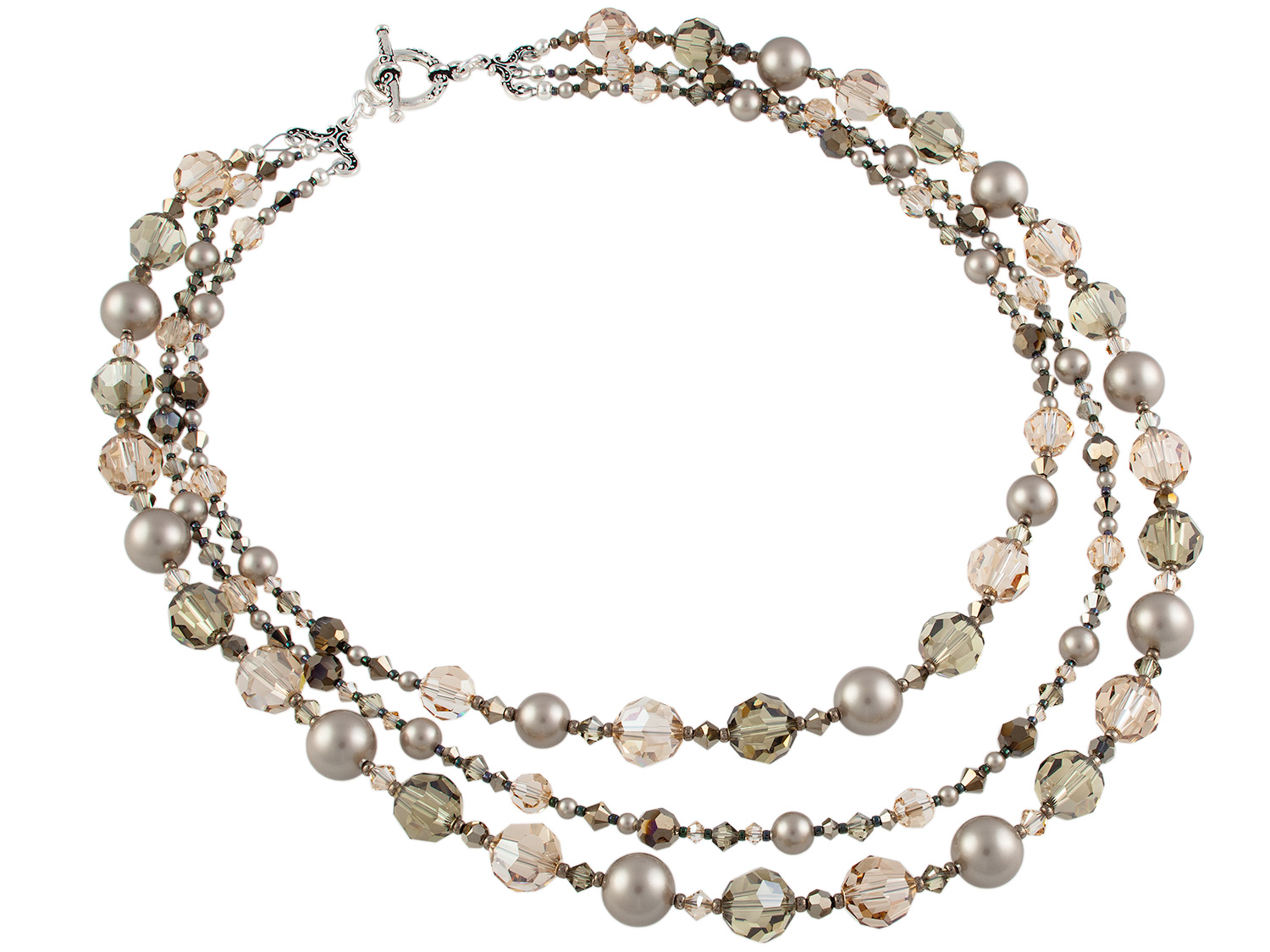 Crystal Opulence Necklace