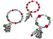 Christmas Past Wine Charms
